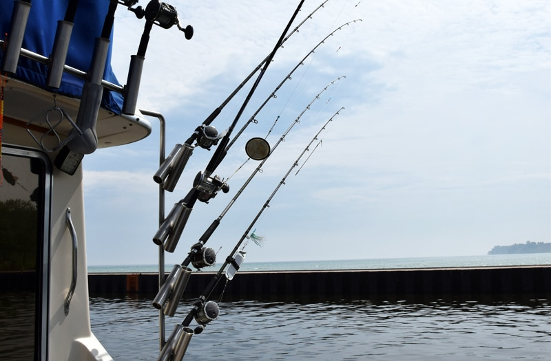 charter fishing lake michigan