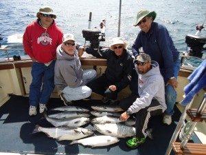 charter fishing kewaunee