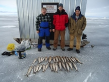 Ice Fishing Kewaunee WI